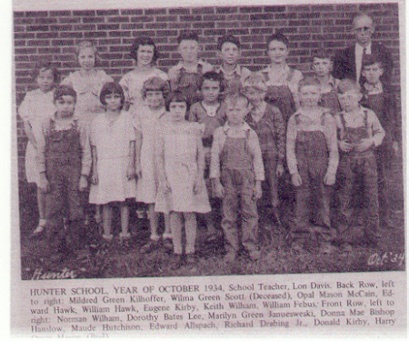 Hunter School 1934