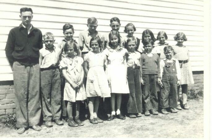 Buchanan School 1934