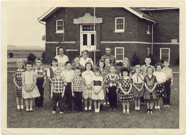 Lake Fork School 1958