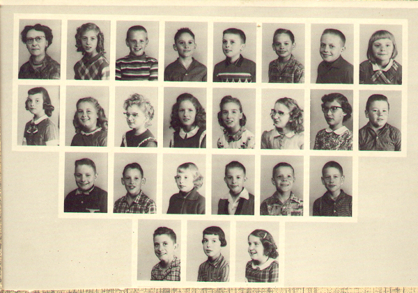Mrs. Turley's 4th grade 1960-61